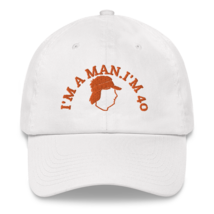 I'M A MAN! I'M 40! Hat / Mike Gundy Hat / Dad hat image 4