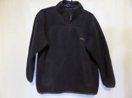 Gap boy kids xs 4-5 Fleece pillover shirt Blue and Gray - $14.00