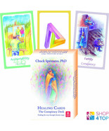 HEALING CARDS THE CONSPIRACY DECK AND BOOK SET CHUCK SPEZZANO AGM NEW - $36.66