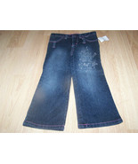 Toddler Girls Size 4T French Toast Denim Blue Jeans Glitter Sparkle EUC - $15.00