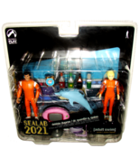 NEW Palisades Toys SEALAB 2021 Debbie Dupree Dr. Quentin Quinn Action Fi... - $23.99