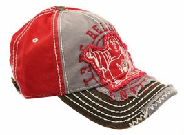 True Religion Men's Premium Vintage Distressed Buddha Trucker Hat Cap TR1101 image 12