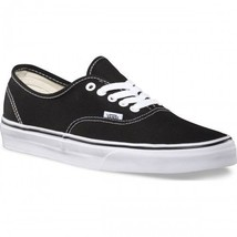 VANS Classic AUTHENTIC NEW MEN & WOMEN Black/White Canvas Sneakers (W/O ... - $32.00
