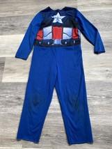 Boys Child Marvel Captain America Halloween Costume Size: 4-6x - $8.00