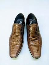 c87bc93a901 Steve Madden Mens Shoes Snake Skin Slip-on Copperhead Size 11 M Hackett -   51.27