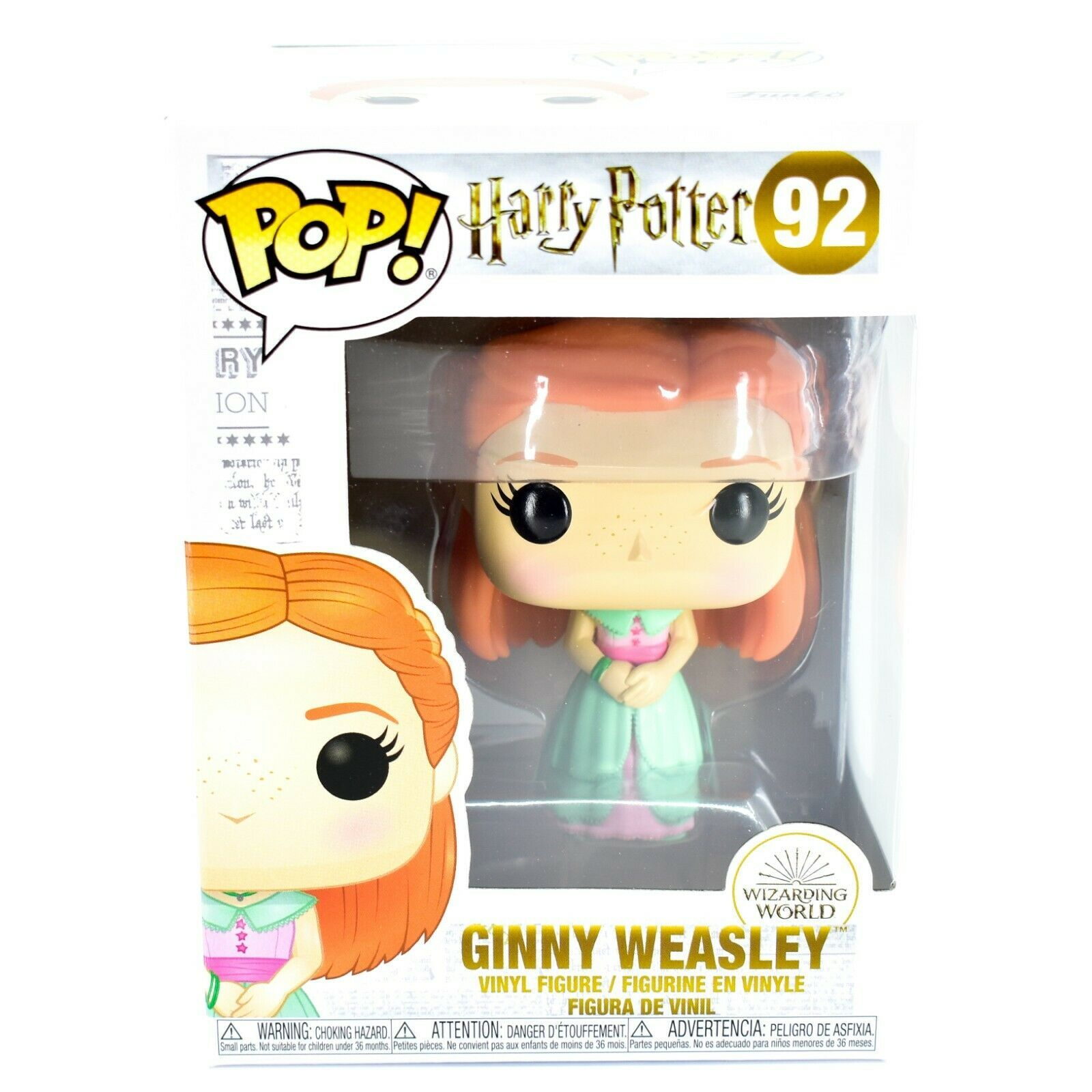 Funko Pop! Harry Potter Ginny Weasley Yule Ball Outfit #92 Vinyl Action Figure