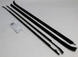 1983-1987 CHEVY CAPRICE 2 DOOR HARDTOP WINDOW BELTLINE WEATHERSTRIP KIT ... - $163.90