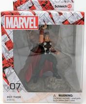 Schleich Marvel Mighty Thor avec Marteau Peint à la Main Figurine Jouet - $15.61