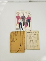 McCall's 2845 Unlined Jacket, Blouse, Scarf, Skirt & Pants Pattern Size ... - $5.27