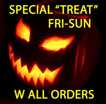 "FRI-SUN Free ""Treat"" W Any Order With $80 Halloween Luck Charm Magick CASSIA4 - $0.00"