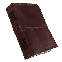 Journal Leather Notebook Diary Blank Handmade Vintage Book Bound  Travel... - $11.88