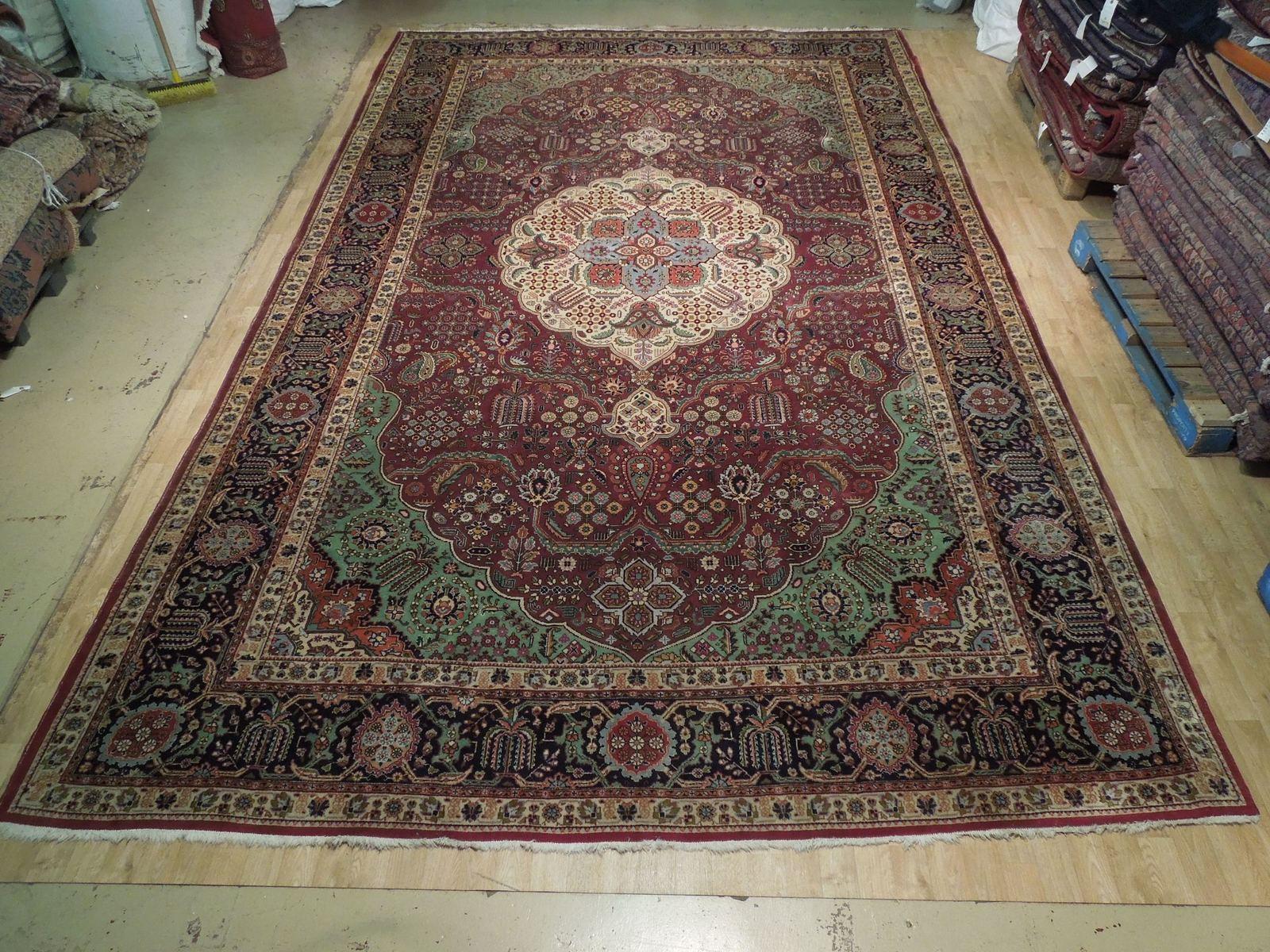 Compex Design Original Red Traditional Persian Wool Handmade Rug 10x16 Rug image 4