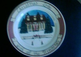 Christmas Love With All The Trimmings Plate, exclusive design by Jackie ... - $1.50