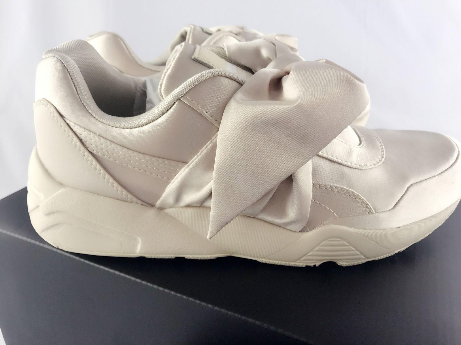 5250e632ab9d ... NIB Puma Fenty By Rihanna Women Bow Sneaker Pink Tint Beige Size 7.5 ...