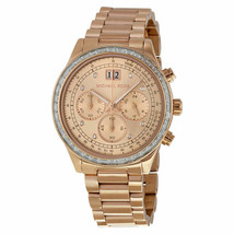 Michael Kors MK6204 Rose Gold-Tone Brinkley Women's Watch - £71.85 GBP