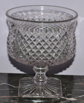 """Westmoreland Glassware English Hobnail Crystal 555 Clear 5.5"""" Compote Fo... - $13.08"""