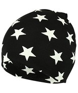 Trendy Apparel Shop Star All Over Printed Infant to Toddler Short Beanie... - $9.99