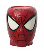 BRAND NEW Marvel Spiderman Head 12 oz Molded Ceramic Mug - $19.79