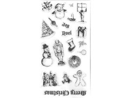 Fiskars 'twas the Night Clear Stamp Set #12-8959 image 2