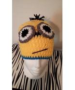Minion Inspired Handmade  Crochet Kids Hat - $21.00