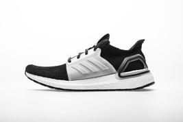 Adidas Women's UltraBOOST 19 Running Shoes Black/White  - $120.00