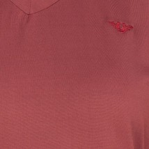 Tuffrider Ladies Taylor Tee Long Sleeve T-Shirt Wine Extra Small image 3
