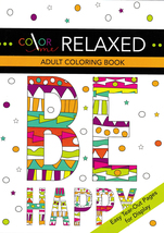 Color Me Relaxed Adult Coloring Book - $8.00