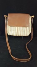 FOSSIL HOBO BAG WOVEN LEATHER 1954, #75082  AP MULTICOLORED - $26.72