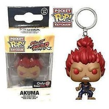 Street Fighter Funko POP! Vinyl Keychain Gamestop Exclusive - Akuma - $13.99