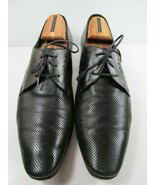 Christian Dior Black Leather Perforated Oxfords US Mens size 11 EUR 44 - $97.02
