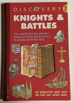 Discovery Plus: Knights and Battles Interactive Book Tabs Flaps By Richa... - $9.89