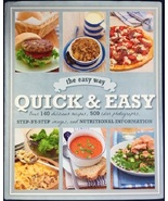 The Easy Way: Quick & Easy (used hardcover cookbook) - $11.00