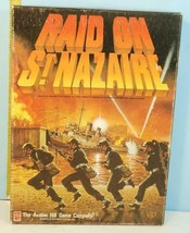 Raid on St. Nazaire WWII Game Avalon Hill 1987 Punched - $94.05