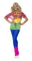 Let's Get Physical Girl Kostüm mit Gymnastikanzug bauchfreiem Oberteil (... - $60.37