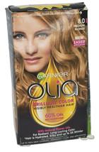 Garnier Olia Oil Powered Permanent Hair Color 8.0 Medium Blonde *Distres... - $8.90