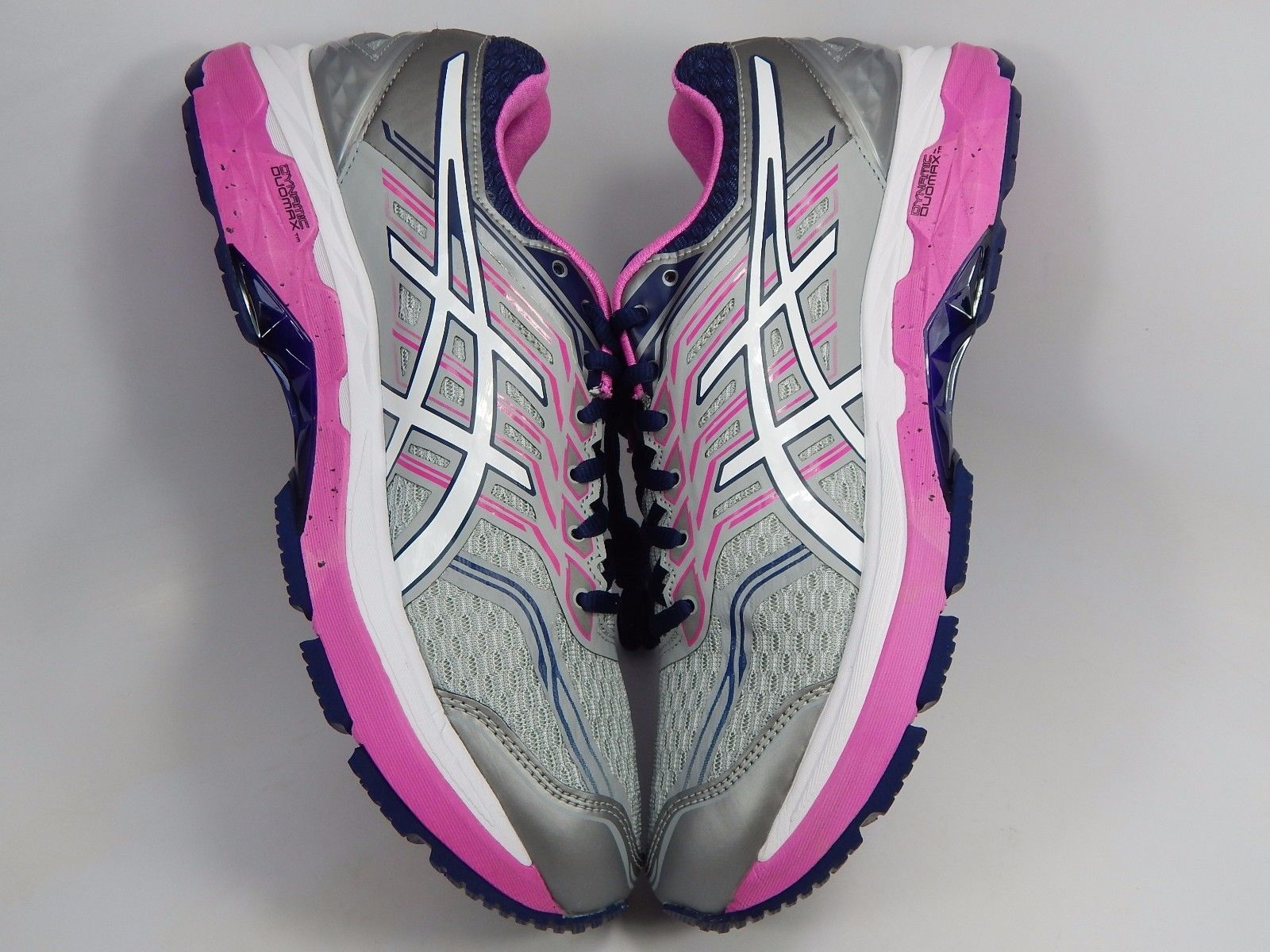 Asics GT 2000 v 5 Women's Running Shoes Size US 11 M (B) EU 43.5 Silver T757N