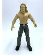 WWE Titan Tron Live Test Wrestling Action Figure Dark Gray Pants 1999 Jakks - $12.99