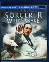 SORCERER AND THE WHITE SNAKE BLU-RAY AND DVD - $9.95