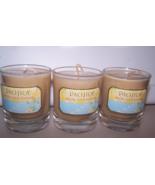 3 Pacifica Malibu Lemon Blossom Soy Candle 3 oz- Lemon, Herbs, Salty Bre... - $21.99
