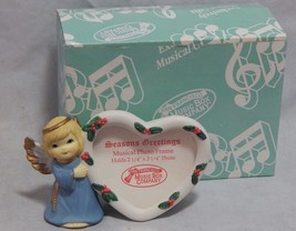 San Francisco Music Box Company Season's Greetings Musical Photo Frame - $15.84