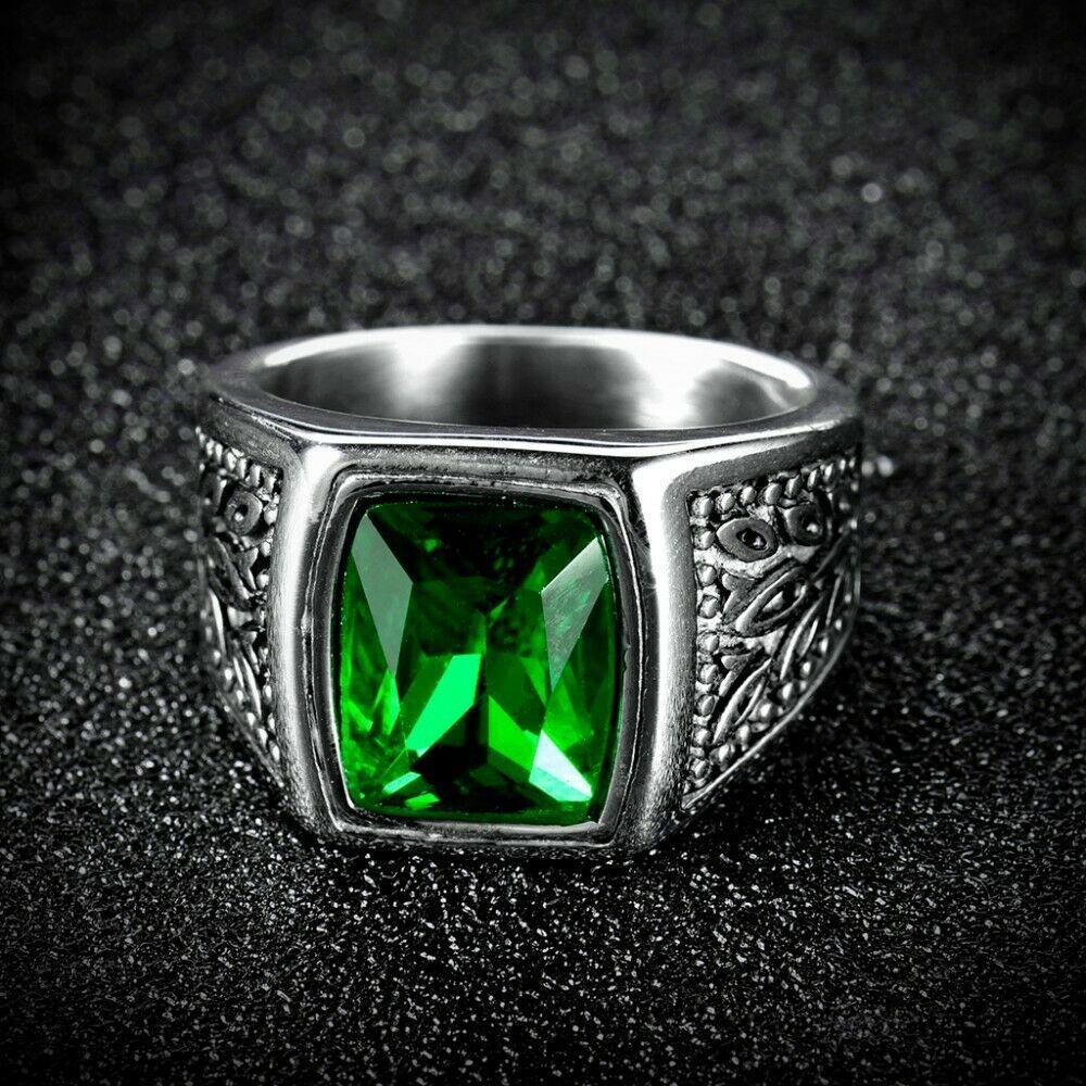 Ring Green Male Female Marid Ifrit Shaitan and 50 similar items