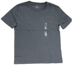 Tommy Hilfiger Kids T-Shirt Girls Dark Gray- S (6-7) - $18.99
