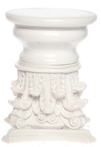 DOLLHOUSE MINIATURE ROMAN CORINTHIAN CAPITAL AND BASE #A3693 - $17.99