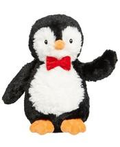 "First Impressions Macys Macy's Stuffed Plush Holiday Xmas Penguin 8"" Toy Bowtie - $49.49"
