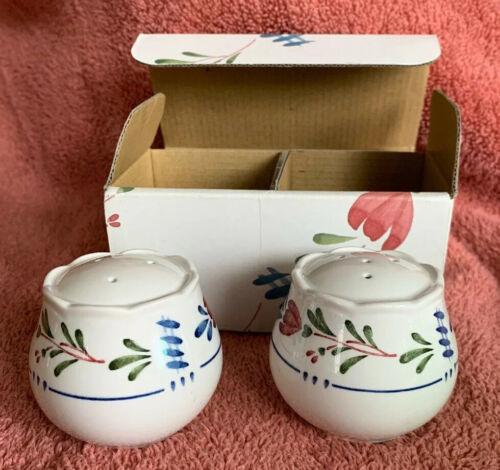 """Nikko China AVONDALE Salt & Pepper Shakers 478898 In Original Box 2.25"""" image 2"""