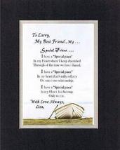 Personalized Touching and Heartfelt Poem for Special Friends - A Special Friend  - $15.79