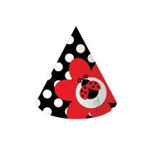 Ladybug Fancy Child Size Party Hats/Case of 48 - $39.00