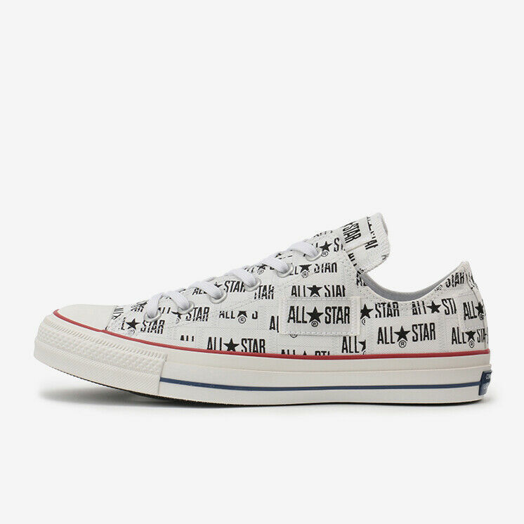 Primary image for CONVERSE ALL STAR 100 MANYNAME OX White Chuck Taylor Japan Exclusive