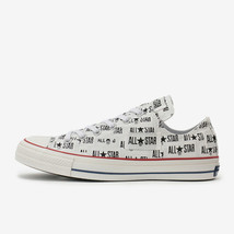 CONVERSE ALL STAR 100 MANYNAME OX White Chuck Taylor Japan Exclusive image 1