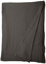 Fiesta Thermal Cotton Blanket, King, Slate - $40.89